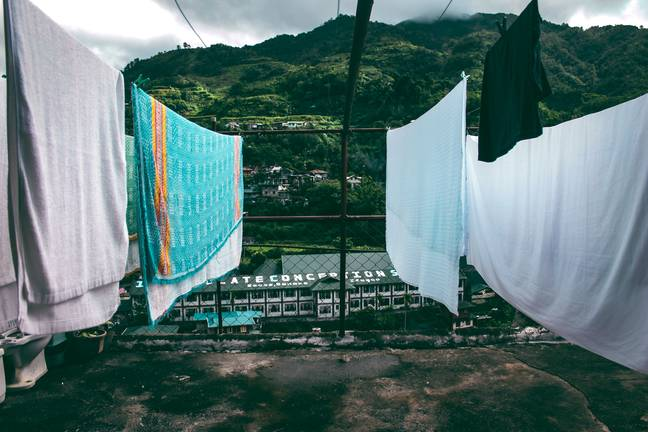 Drying your towels in the fresh air is the best way to keep them soft (Credit: Unsplash)