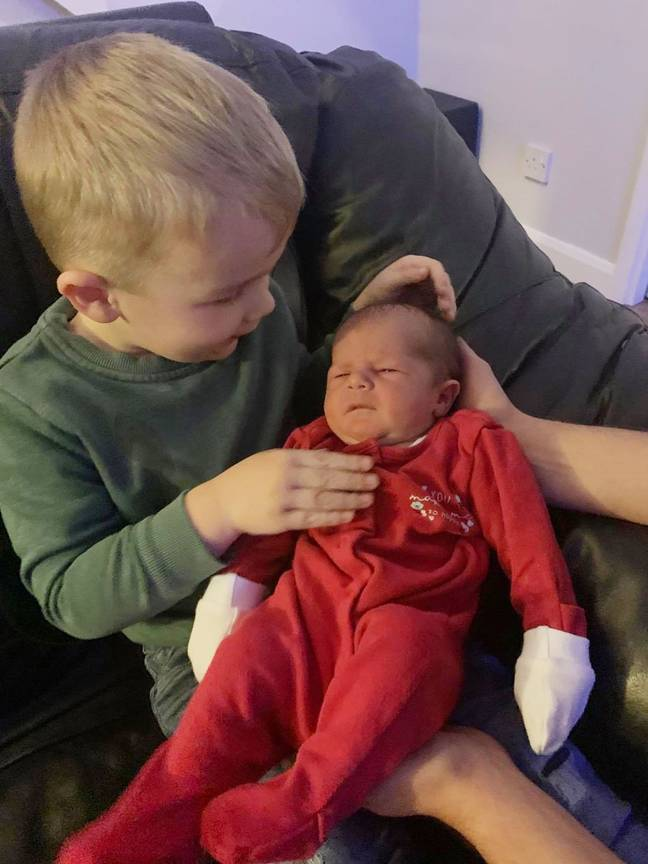 Sienna's siblings have rallied around the newest member of the family (Credit: Kennedy News)