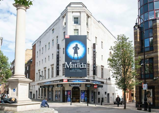 Matilda opened on the West End in 2011 (Credit: PA Images)