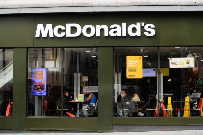 The fast-food giant made the generous donation today (Credit: PA Images)