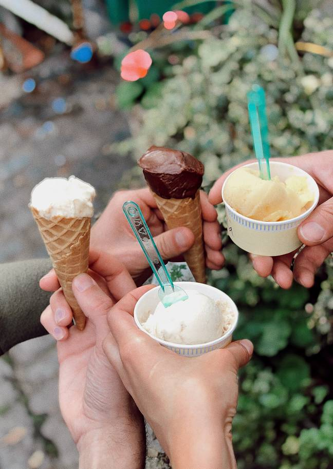 Ice creams at the ready! (Credit: Pexels)