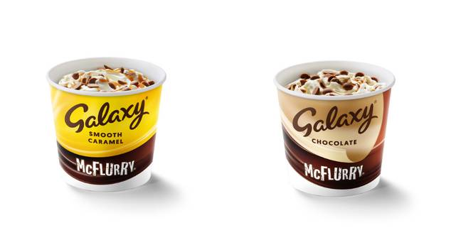 Two McFlurry favourites are back (Credit: McDonalds)
