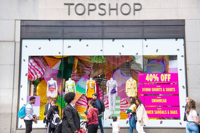 Topshop is considered the flagship of the Arcadia brand (Credit: PA)