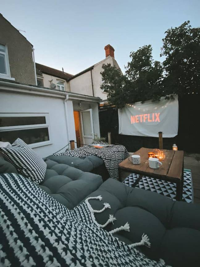 Now, it even includes a cosy outdoor cinema (Credit: Jordy Wells)