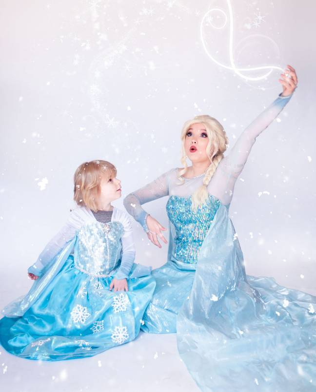 Michael and Elsa (Credit: Boys Can Be Princesses Too Project)