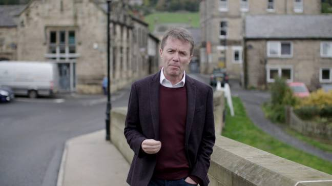 Nicky Campbell tells the story for ITV (Credit: ITV)