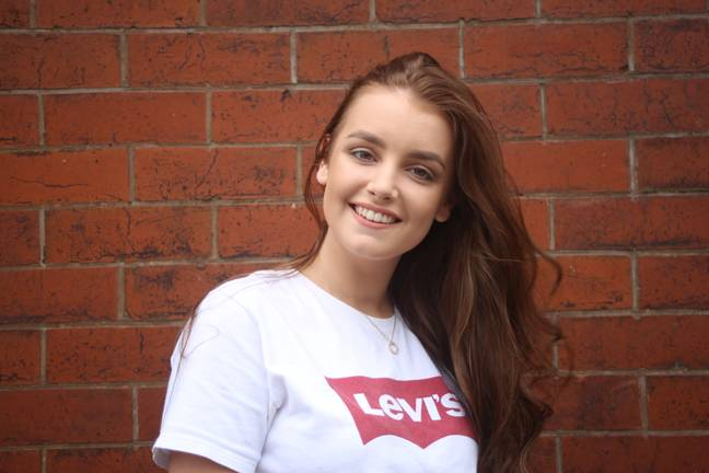 Ellie, 19, says the hangover days are a godsend (Credit: SWNS)