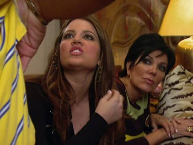 In 'Cinderella Story', Khloe takes a DNA test to check she is truly a member of the family (Credit: E! Entertainment)