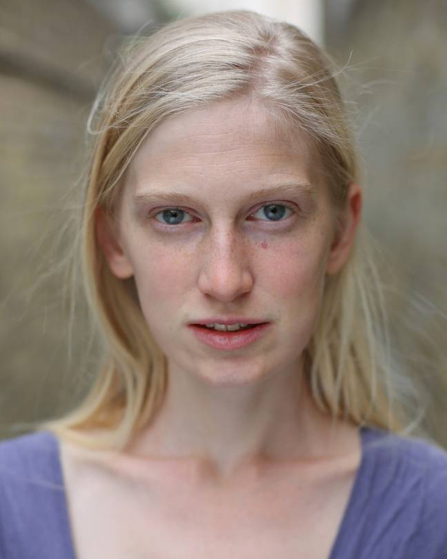 Actress Nell Hardy was homeless for two years (Credit: Chris Keenan)