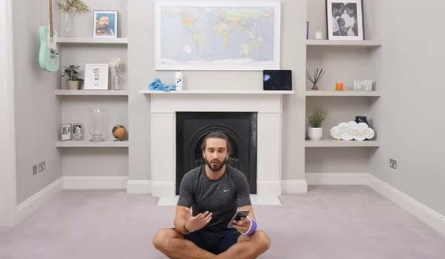 Joe said he was 'moved and inspired' by the touching post (Credit: Joe Wicks/YouTube)