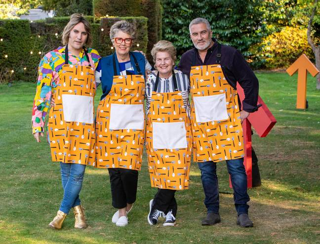 'The Great Celebrity Bake Off' for Stand Up To Cancer started last week (Credit: Channel 4)