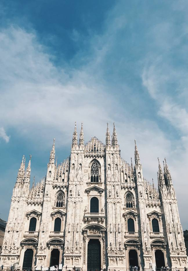 Andrea will perform to an empty Milan Cathedral (Credit: Unsplash)