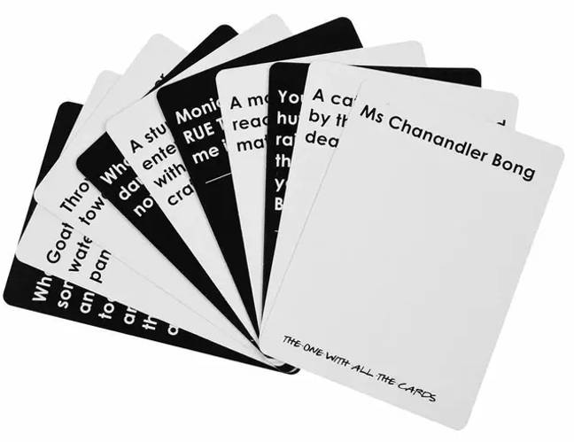 The point of the game is to create the funniest card pairing (Credit: eBay)