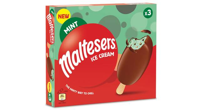The ice-creams have only launched in Asda stores so far (Credit: Mars)