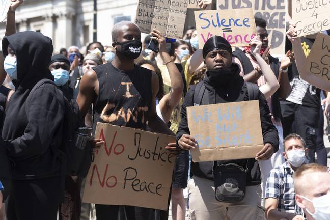 Protests have been taking place around the world (Credit: PA)