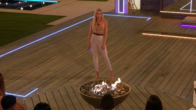 Chloe had to couple up with a boy earlier this week (Credit: ITV)