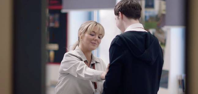 Jenna is accused of having a sexual encounter with a student (Credit: Channel 5)
