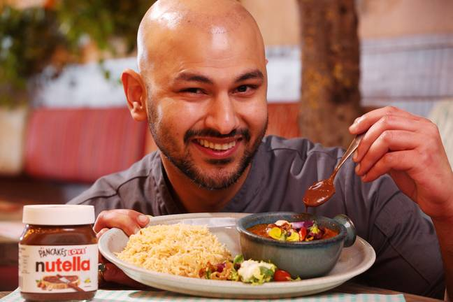 Chef Himanshu Khurana at Tamatanga spent weeks perfecting the limited-edition curry (Credit: Deliveroo)
