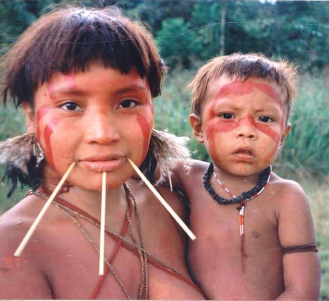 Members of the Yanomami people (Credit: Wikimedia)