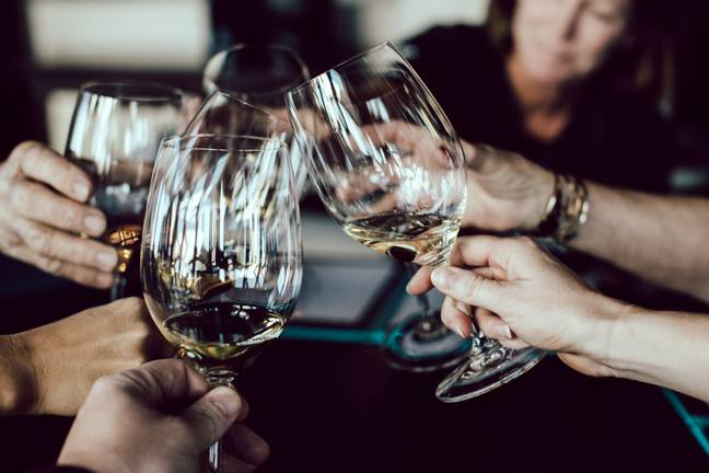 A glass of wine with your BFFs is the best date you could ask for (Credit: Unsplash)