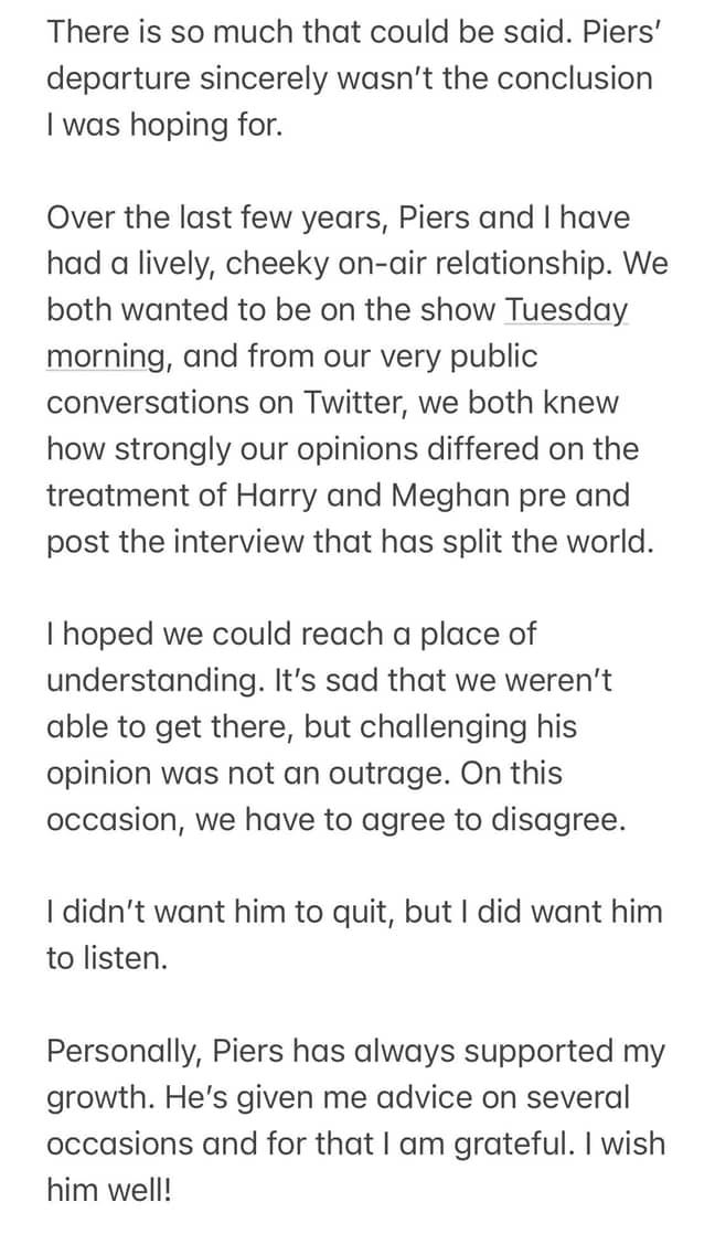 Alex issued the statement on Twitter (Credit: Alex Beresford/Twitter)
