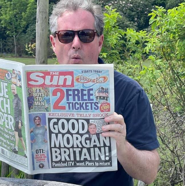 Piers Morgan (Credit: Instagram/piersmorgan)