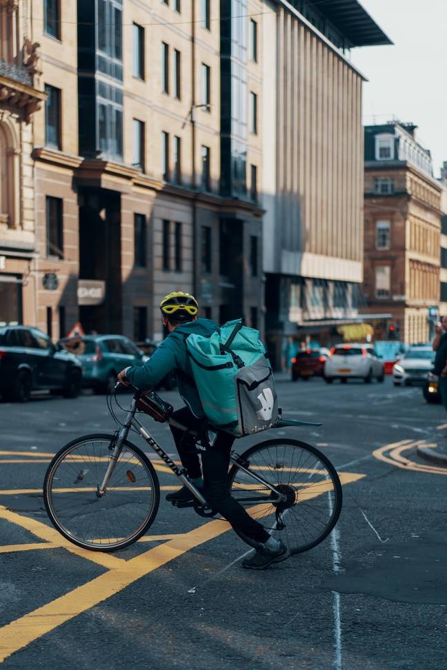 Deliveroo is also delivering groceries (Credit: Unsplash)