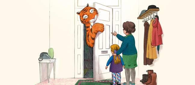 The adaptation will be aired around Christmas. (Credit: Channel 4/The Tiger Who Came To Tea)