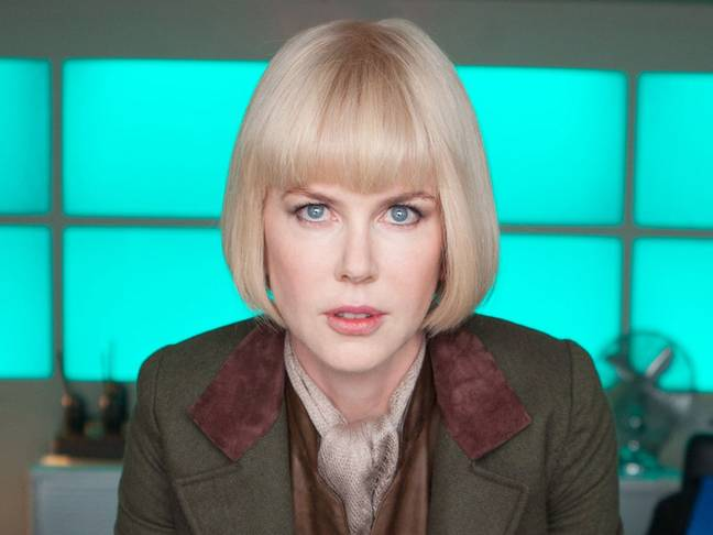 Nicole Kidman starred as villain Millicent (Credit: Studio Canal)