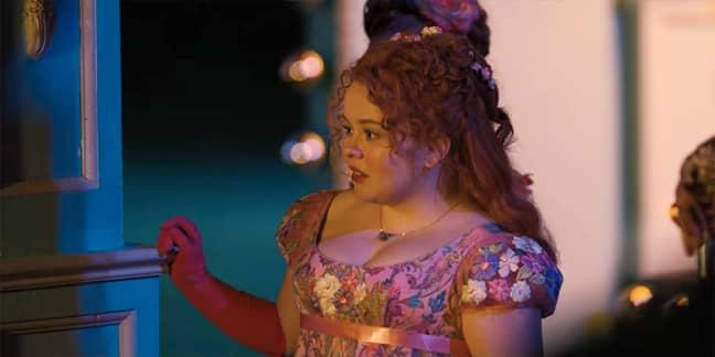 Penelope Featherington is the focus in Romancing Mister Bridgerton (Credit: Netflix)