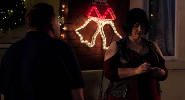 The final few minutes of the 'Gavin And Stacey' Christmas Special were emotional (Credit: BBC)