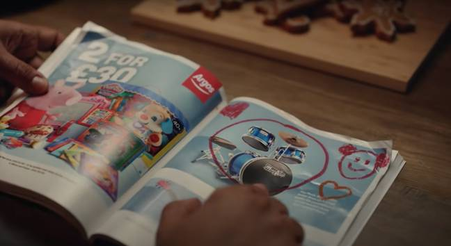 The Argos catalogue was nicknamed 'The Book of Dreams' (Credit: Argos / YouTube)