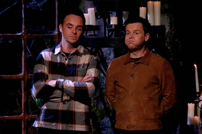 Even Ant and Dec found the trail hard to watch (Credit: ITV)