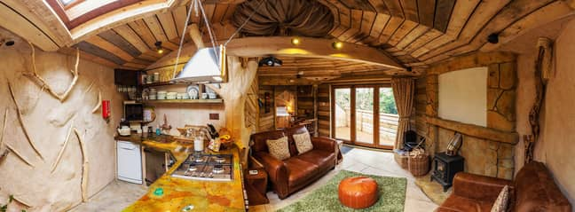 This whimsical treehouse looks so dreamy (Credit: CoolStays)