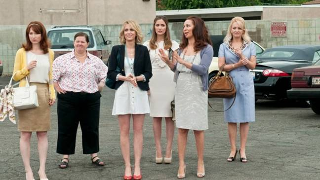 Melissa McCarthy and Rose Byrne also star (Credit: Universal Pictures)