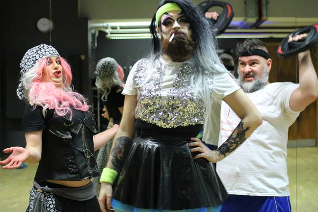 Jordan started Drag Diva Fitness in January 2019 (Credit: Pank Sethi Photography/PA Real Life)