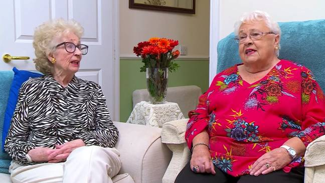 Mary and Marina are both in their 90s (Credit: Channel 4)