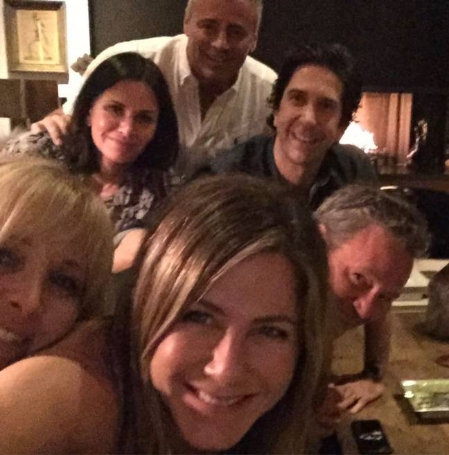 Friends Reunion (Credit: Instagram @Jenniferaniston)
