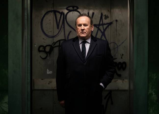 Colm Meaney also stars in the drama (Credit: Sky)