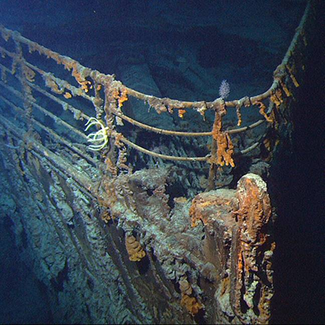 You could have a chance to explore the wreckage (Credit: OceanGate Expeditions)