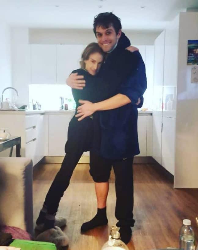 Pete Bennett shared this picture with Nikki (Credit: Instagram/ Pete Bennett)