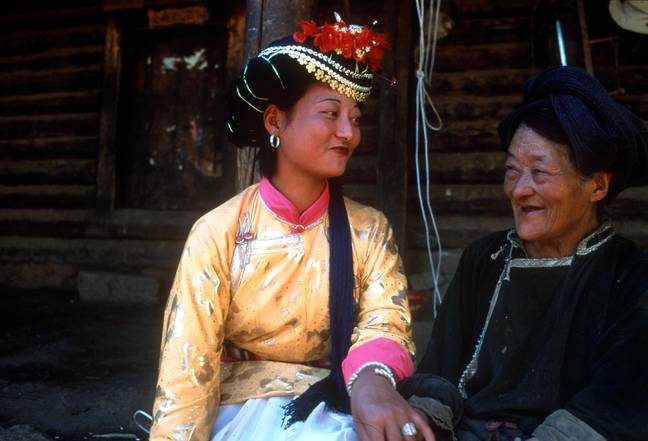 In the matrilineal Mosuo culture, grandmothers are the head of the household (Credit: Shutterstock)