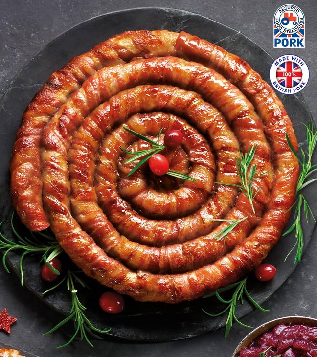 The sausage will be on sale 3rd December (Credit: Aldi)