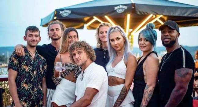The hit show sees wannabe workers try to make it on the party island (Credit: BBC)