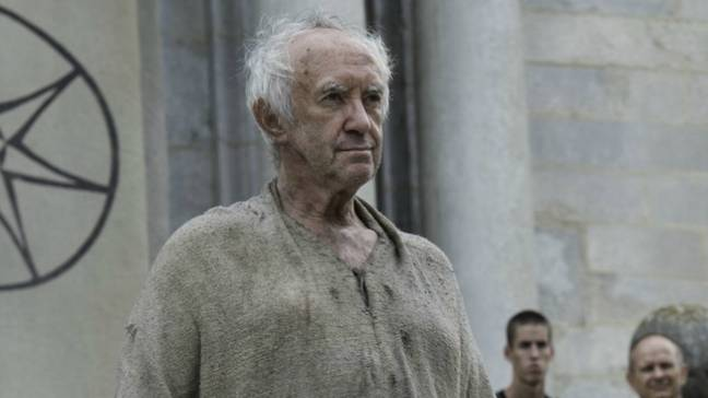 Game Of Thrones' Jonathan Pryce will be taking over (Credit: HBO)