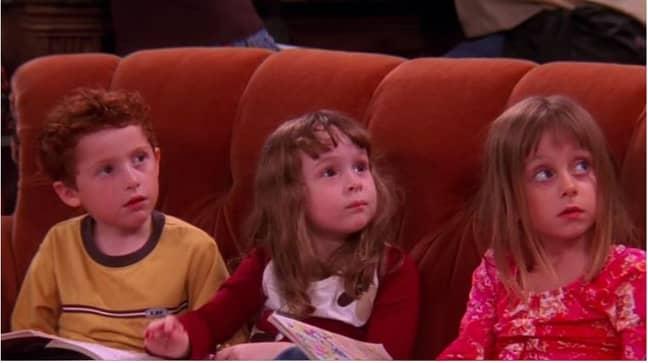Chandler, Frank Jr Jr and Leslie were portrayed by multiple child actors. Credit: Warner Bros.