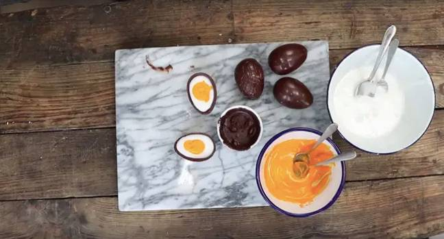 You can now even make your own Creme Egg from home (Credit: Paul A Young/Sainsburys)