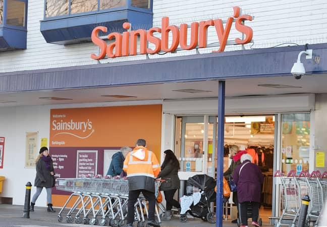 Sainsbury's workers