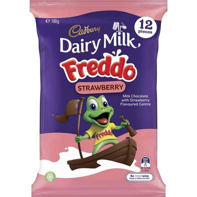 Grab Strawberry Freddos in the UK, now (Credit: Cadbury's)