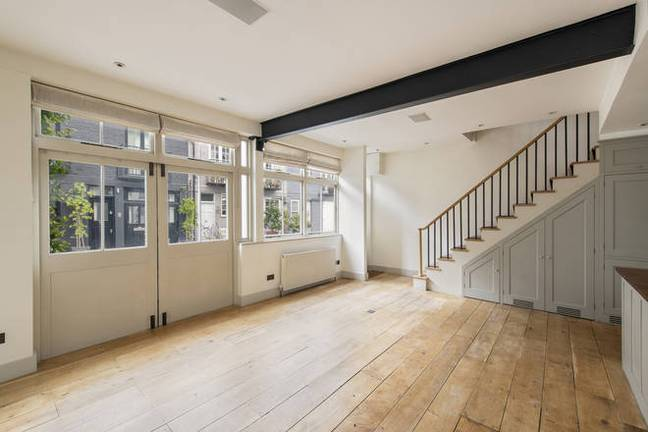 Check out the space and natural light! (Credit: Knight Frank)